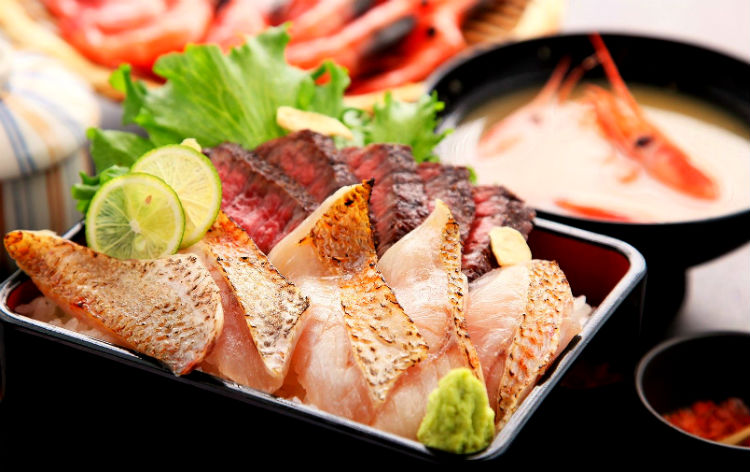 炙りのどぐろと新潟和牛丼(イメージ)