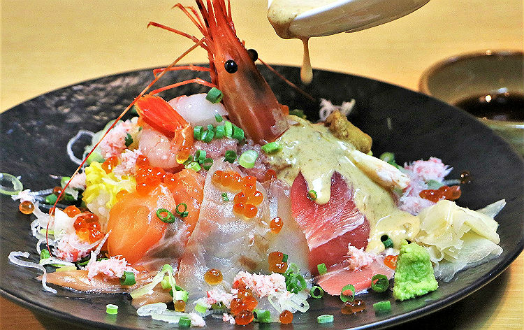 特上海鮮丼(イメージ)