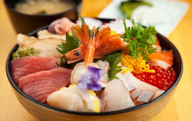 特選海鮮丼(イメージ)