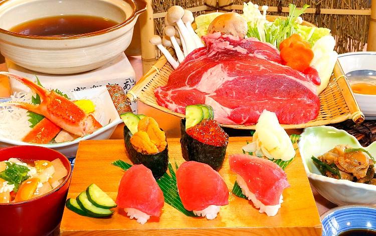 特選牛のすき焼き御膳(イメージ)