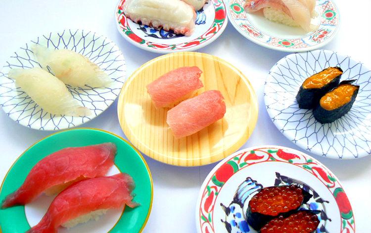 デカネタ回転寿司食べ放題(イメージ)