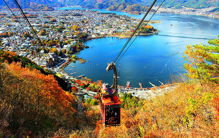 河口湖 富士山パノラマロープウェイ(イメージ)