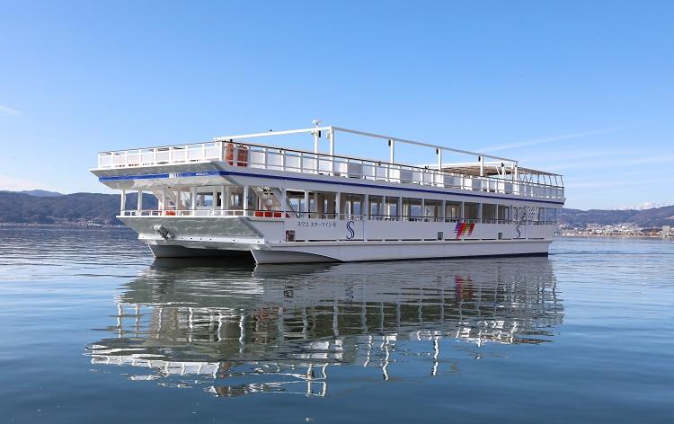 諏訪湖観光汽船(イメージ)