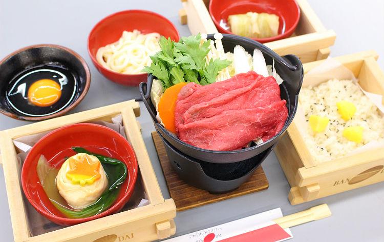 日光高原牛すき鍋(イメージ)