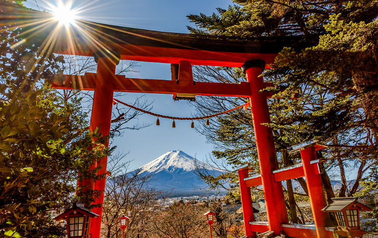 新倉富士浅間神社(イメージ)