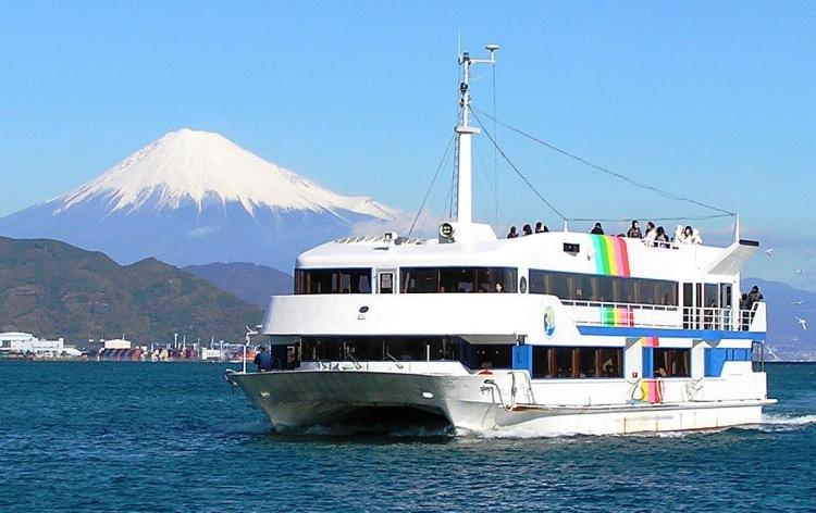 富士山清水港周遊クルーズ(イメージ)