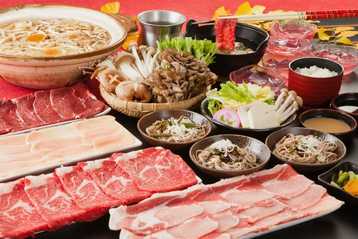 10大食べ放題の夕食(イメージ)