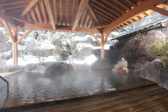 雪見露天風呂(イメージ)