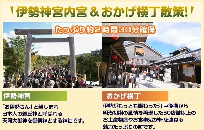 伊勢神宮・おかげ横丁(イメージ)
