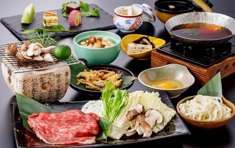 焼き松茸松阪牛食べ放題(イメージ)