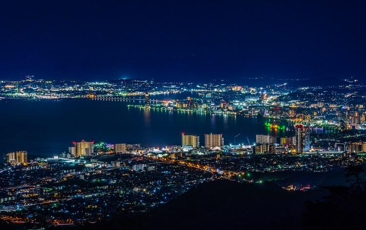 【夜間特別運行】坂本ケーブルで夜景観賞(イメージ)