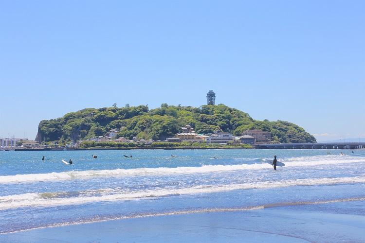 江の島(イメージ)