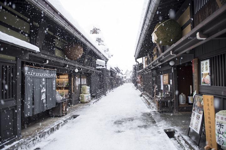 飛騨・高山街並(イメージ)