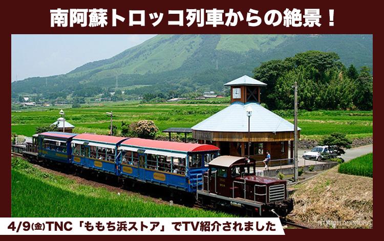 南阿蘇トロッコ列車(イメージ)