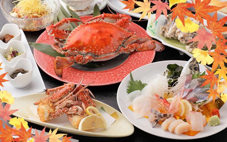 竹崎かにコース料理(イメージ)