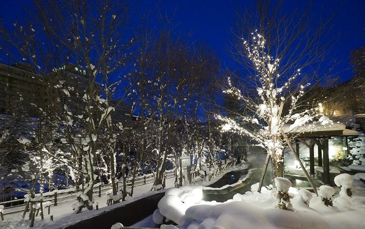 冬の定山渓/イメージ