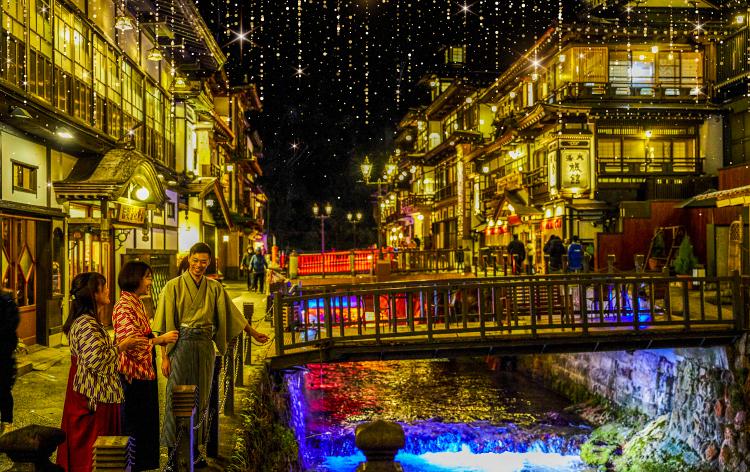 銀山温泉 千年廻廊(イメージ)