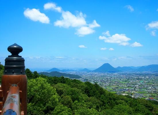 金刀比羅宮から見た讃岐平野/イメージ