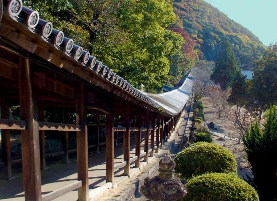 吉備津神社・回廊/イメージ
